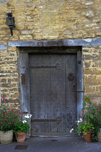 Castle Combe cottage door on Water Street