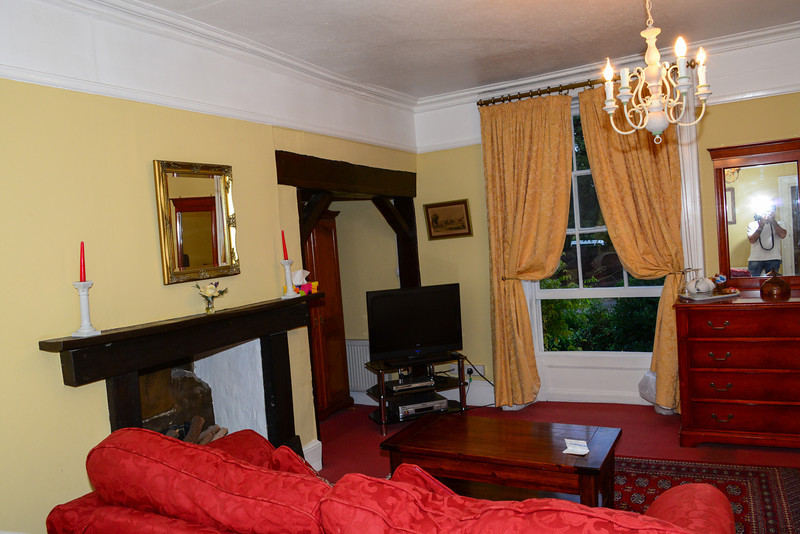 Our bedroom while at Harmonsworth Hall House BB