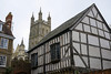 Todur Building with Gloucester Cathedral in background...Gloucester