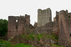 Goodrich Castle one of the finest medieval Norman castles of its time.