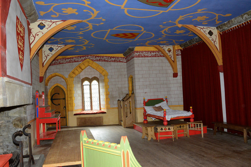 The King's Room at Chepstow Castle