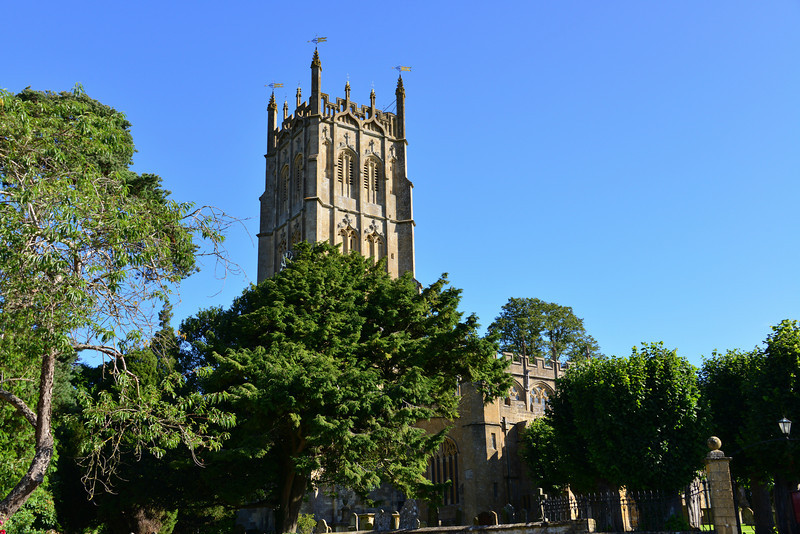 St James Church - Chipping Campden<br /> The church of St James, is a landmark for miles around, can be found at the north end of the town. It is a magnificent example of an early perpendicular wool church, rebuilt in the 15th century.