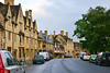 The High Street contains many Cotswold stone buildings constructed between the 14th and 17th centuries and is now designated as a conservation area.