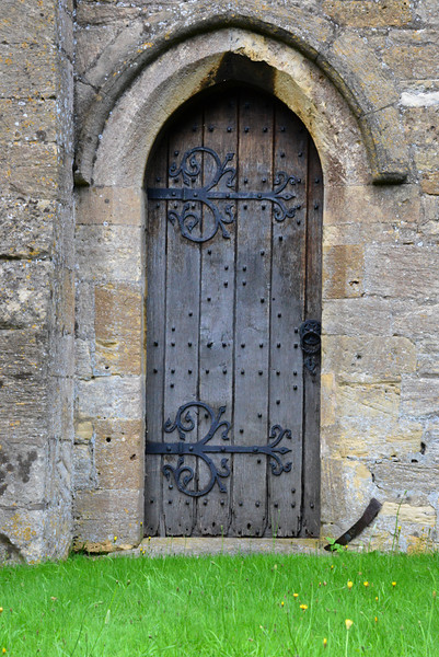 Door at the St. Edward's Church