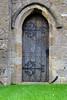 Door at the St. Edward's Church