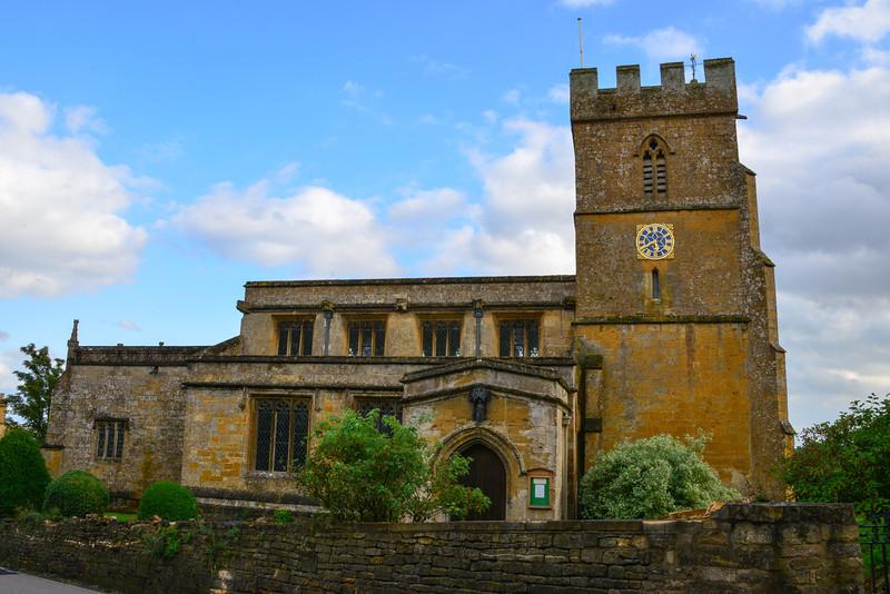 Church in Burton on the Hill