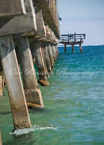 Fishing pier in Ft. Lauderdale