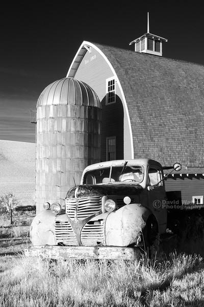 Truck Silo Barn Infrared