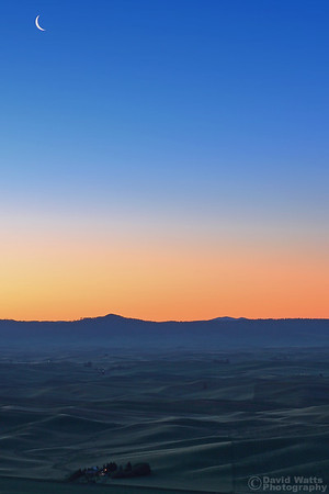 Steptoe Butte at Dawn