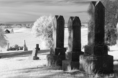Freeze Church Graveyard Infrared