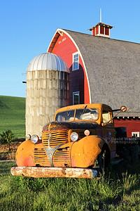 Truck Silo Barn