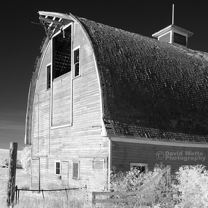 Old Red Barn Infrared