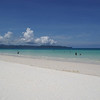 The beach at Fridays in Boracay, Philippines