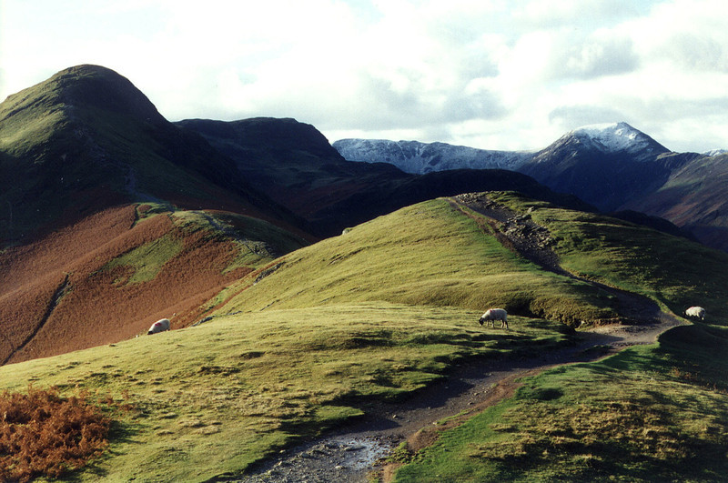 This is Cat Bells. We've climbed this a number of times.  :-)