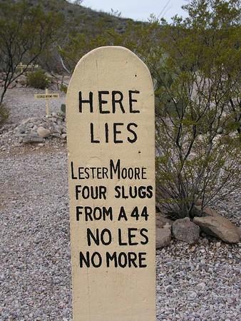 Tombstone Arizona- Boot Hill