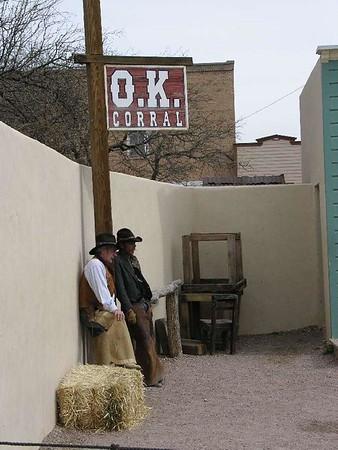 Tombstone Arizona - O.K. Corral