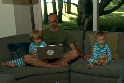 Ezra, Glyn and Colin