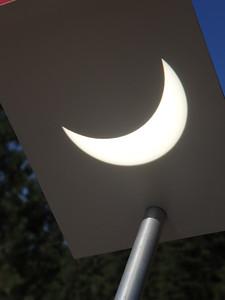 The crescent sun.