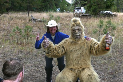 Never thought I'd see BigFoot, too, on this trip!