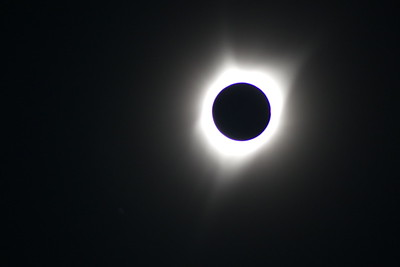 Joe took an awesome photo of the sun's corona.