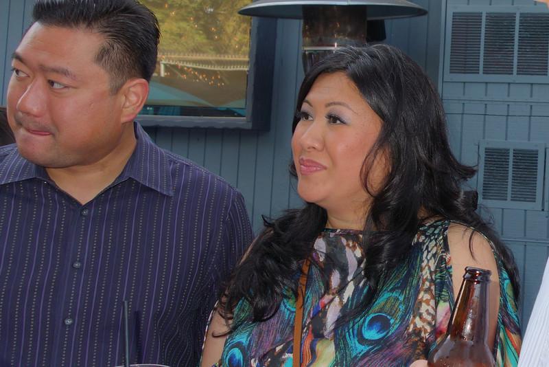 One of Leonie's cousins, Maritiss (sp?) and her husband, Joe