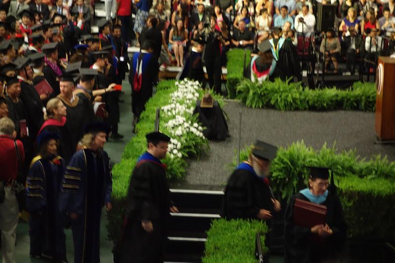Faculty arrives