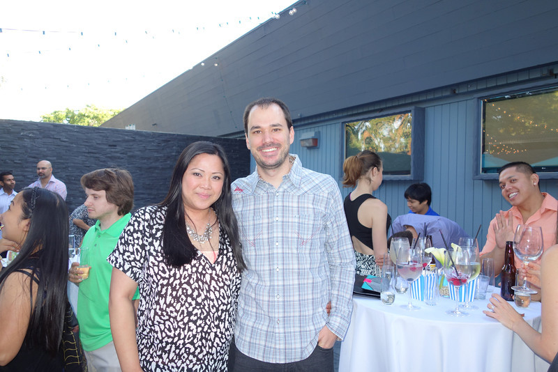 Leonie's sister, Darlene and her husband, Manuel