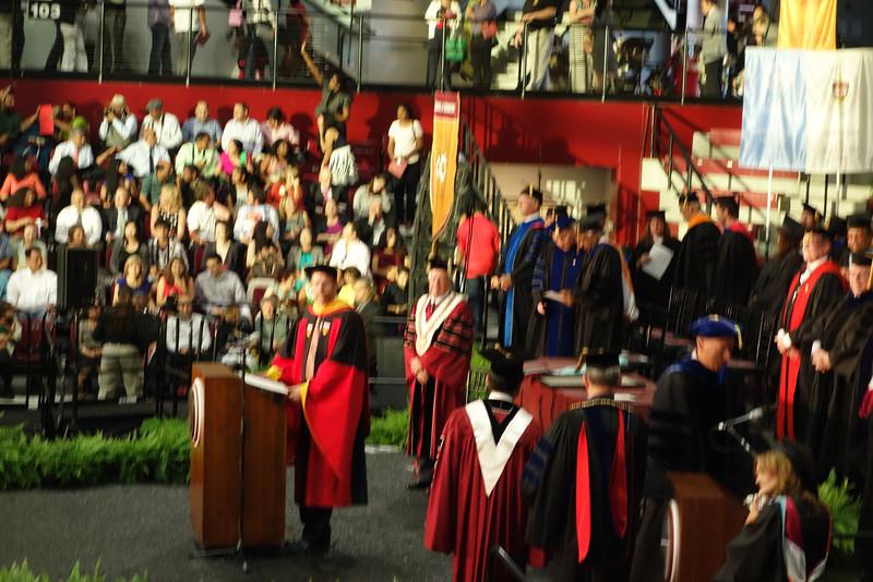 Presider for Ceremonies, Dennis Jacobs, Ph.D.