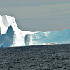 A huge iceberg.  The tiny one in front is larger than the MV Corinthian.