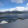 Flying into Ushuaia