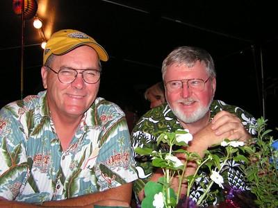 PICT3415s, luau at Port Allen Park, aug 20, 2005