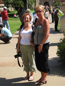 Jill and Lynne in Balboa park