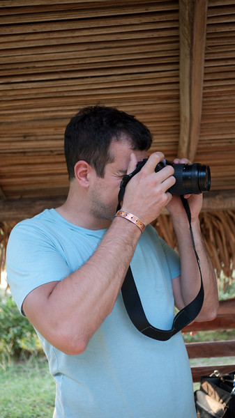 ...and documenting every shot