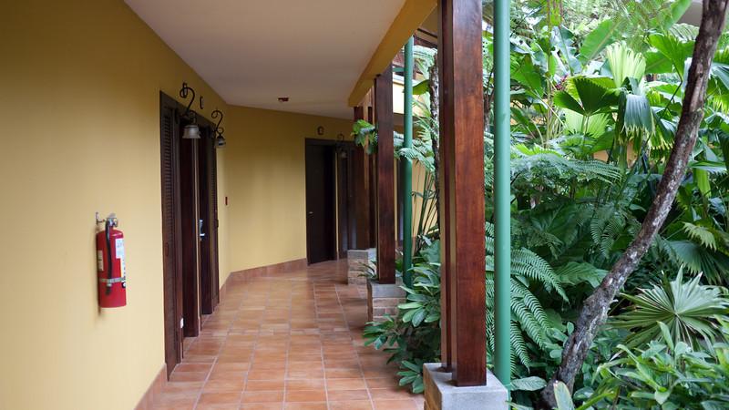 the rooms at Tabaçon Resort...
