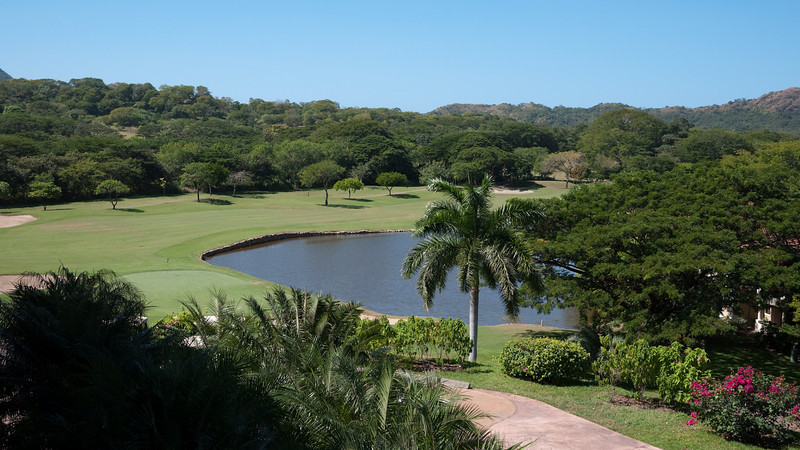 another glimpse at the golf course