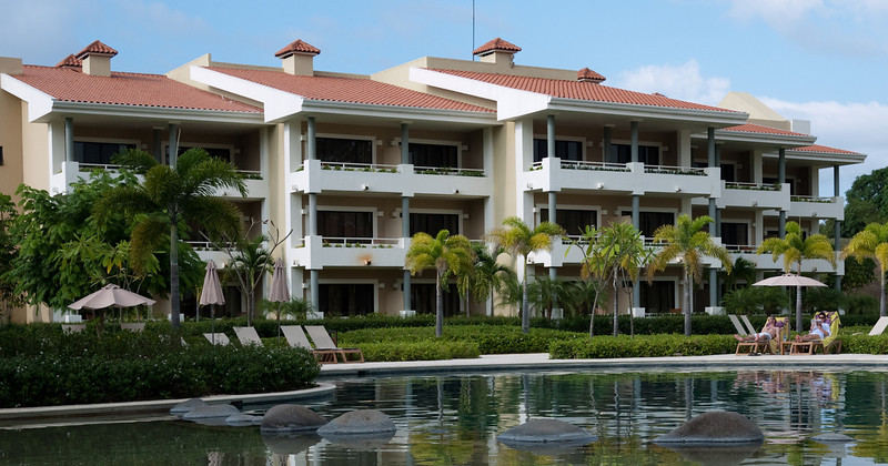 the building we stayed in at Paradisus