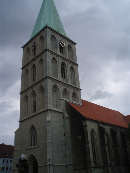 Cathedral in Hamm, Germany