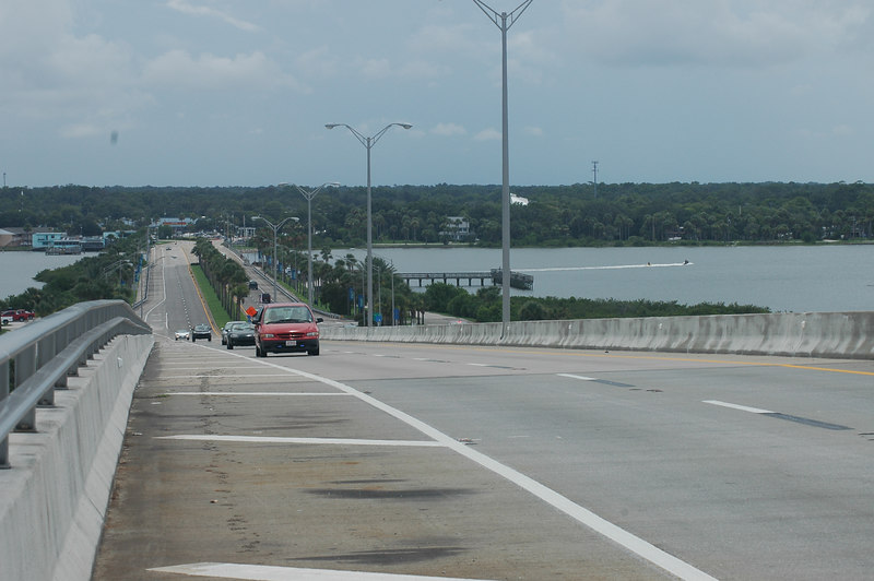 View towards mainland.