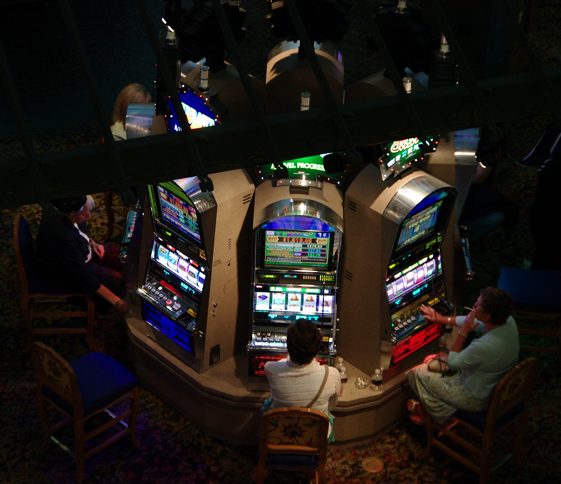 Casino in the Eiffel Tower.