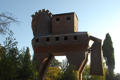 October 2, 2011 - Turkey Day 2 - Troy-Truva-the famous origin of Trojan Horse