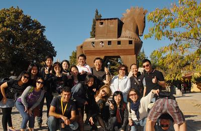 October 2, 2011 - Turkey Day 2 - Troy-Truva: Trojan Horse - The Wing On Travel Tour Mates