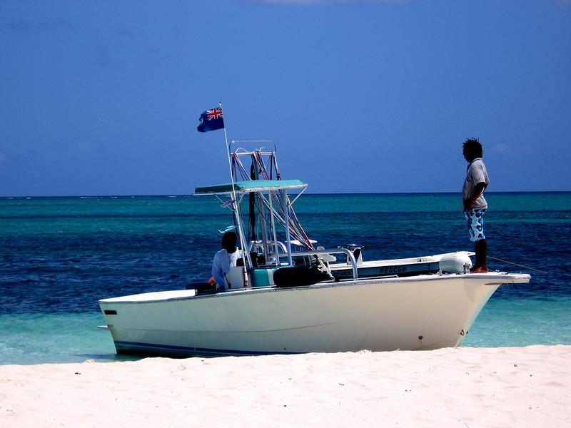 The TCI version of the Maldivian dhoni.