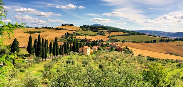 Monticchiello - Pienza - Montepulciano