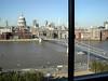 View of St. Pauls/Millenium Bridge from Tate Modern