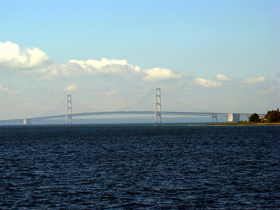 The Mighty Mac bridge again.