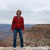 Kim at Grand Canyon.