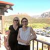 Mel and Kim in Sedona.