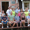 Gerald and Pat Hinsz and their extended family.