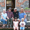 Tyrone and Geraldine Hinsz, Tyrone's sister Marilyn and her husband Barry and two of Tyrone and Geraldine's grandchildren.