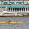 Kayaker in Boothbay Harbor.